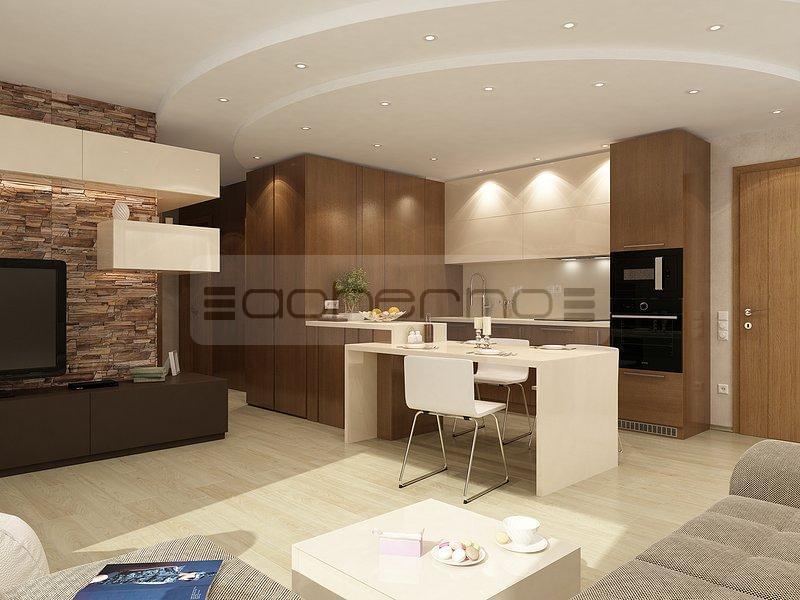 moderne und elegante Küche in Anthrazit und Edelstahl