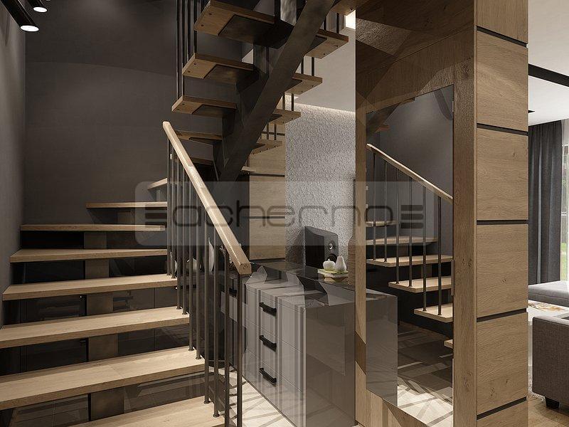 Acherno grau aber nicht farblos for Treppenhaus grau