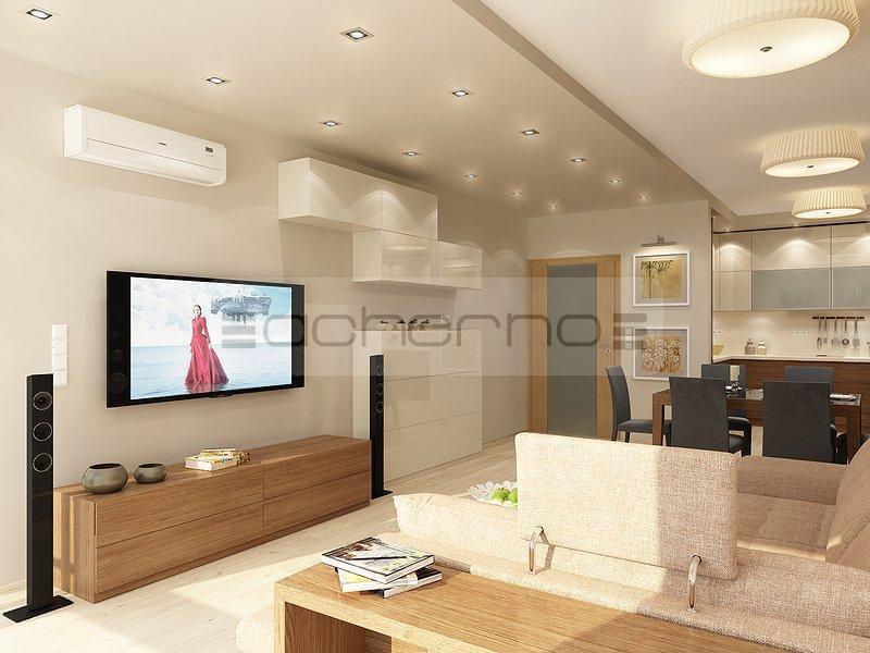 Innenarchitektur Projekt Wohnzimmer