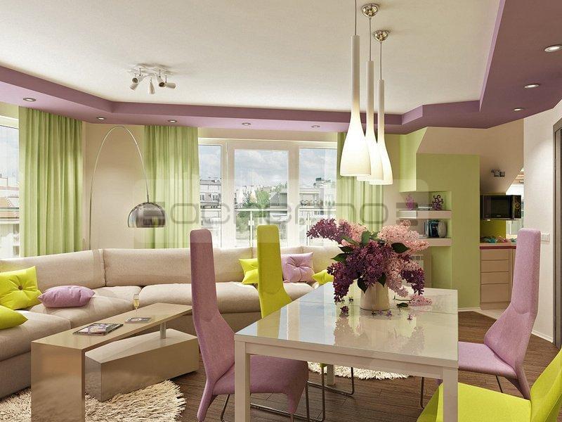 Acherno innenarchitektur projekt in fr hlingsfarben for Innenarchitektur und raumgestaltung
