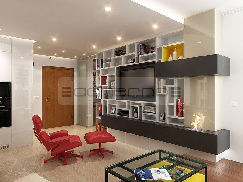 Acherno kreativ mit gelb und rot - Raumgestaltung wohnzimmer ...