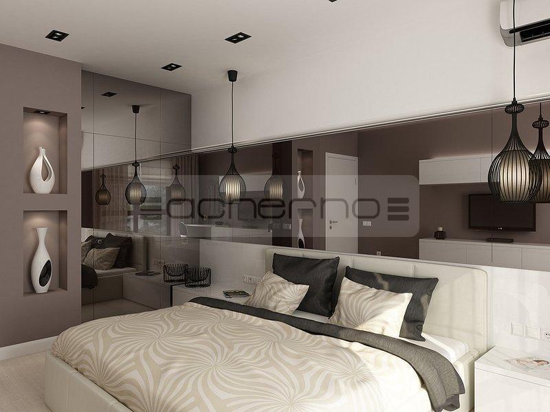 Innenarchitekt schlafzimmer  Acherno - Minimalistische Innenarchitektur Ideen in Weiß