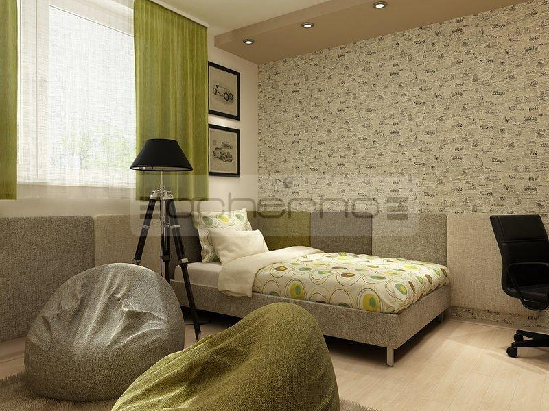 Acherno raumgestaltung mit kontrastreichen akzenten - Einrichtungsideen jugendzimmer jungen ...