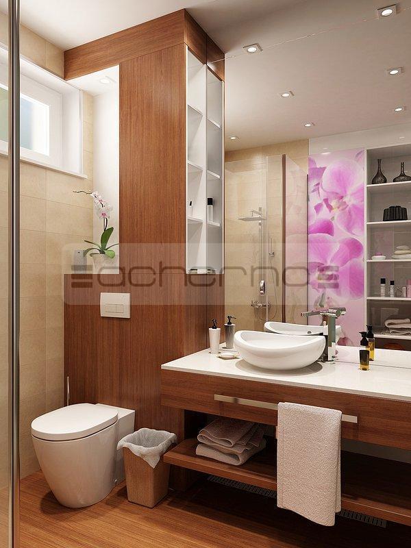 Acherno raumgestaltung mit kontrastreichen akzenten for Raumgestaltung bad