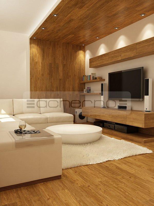 Acherno raumgestaltung mit kontrastreichen akzenten for Raumgestaltung wohnzimmer beispiele