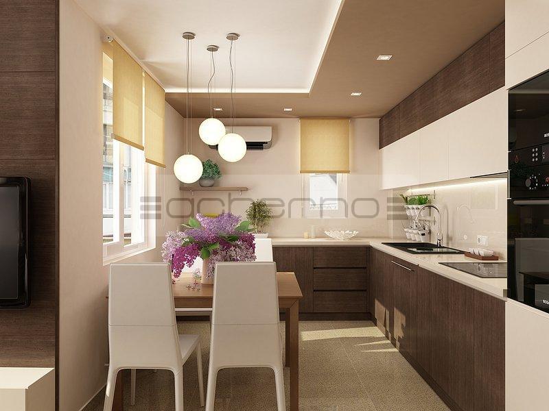 Moderne Apartment In Dezenten Farben With Wohnideen Kche Farbe