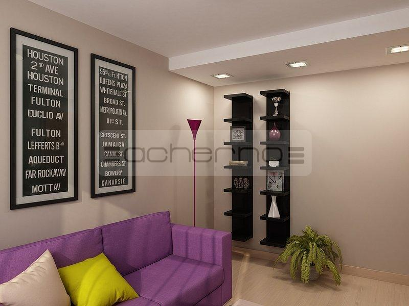 Acherno - Moderne Apartment Raumgestaltung in dezenten Farben