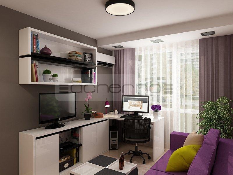 Acherno moderne apartment raumgestaltung in dezenten farben for Raumgestaltung wandfarbe