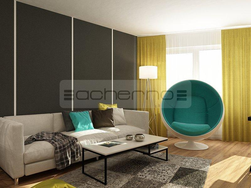 Acherno moderne innenarchitektur ideen pop art for Wohnung design