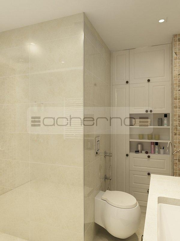 Acherno moderne interpretation eines klassischen wohndesigns for Innenarchitektur badezimmer