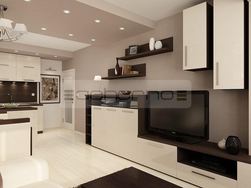 Acherno - Raumgestaltung Ideen in beliebtem Braun und Weiß
