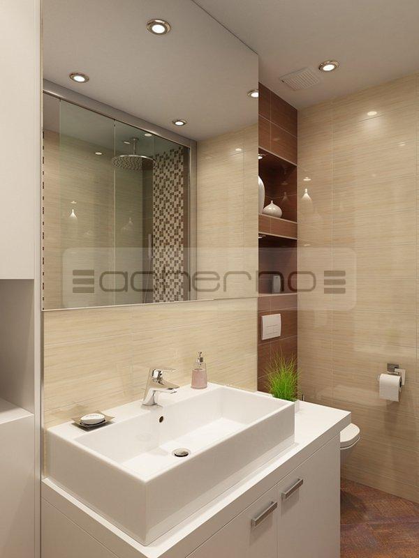 Acherno raumgestaltung ideen in beliebtem braun und wei - Raumgestaltung badezimmer ...