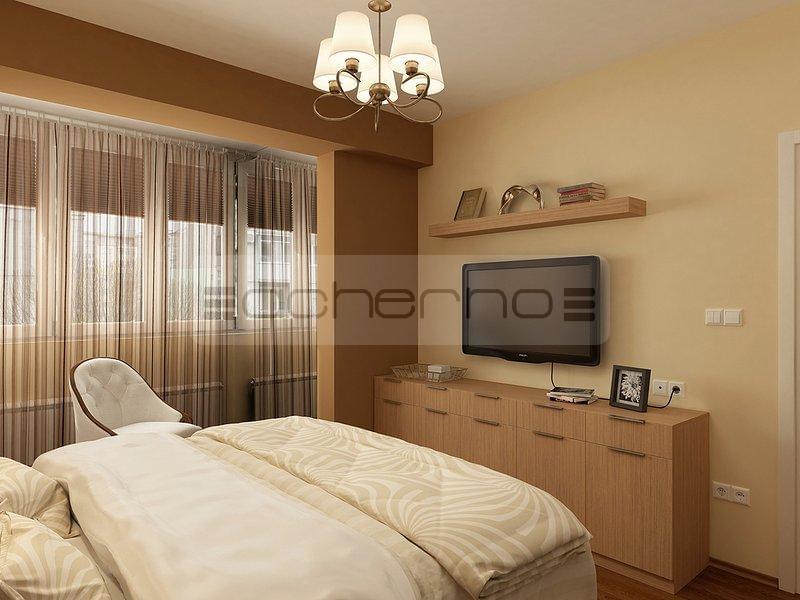 Schlafzimmer idee braun for Gestaltungsideen schlafzimmer wa nde