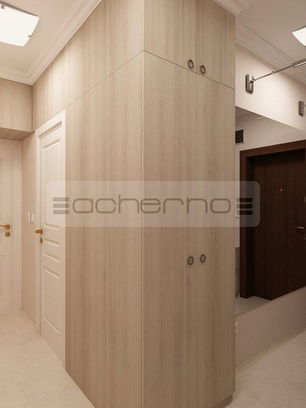 acherno - raumgestaltung ideen in beliebtem braun und weiß - Weis Braunes Innendesign Dachwohnung