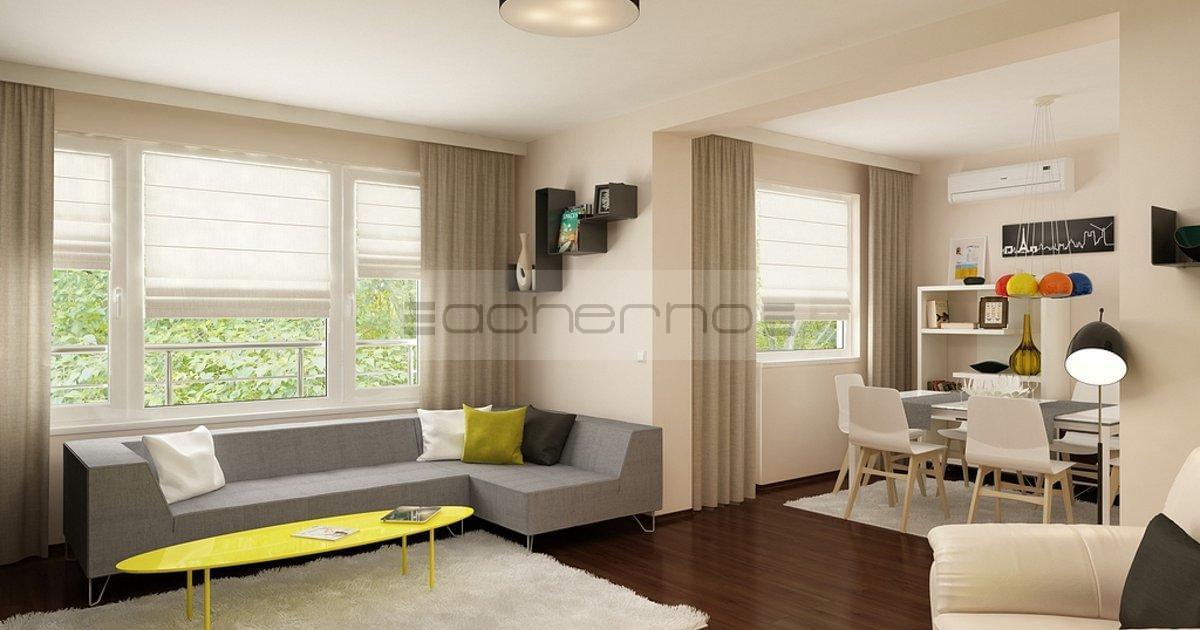 Acherno modernes wohnung design in frischen farben for Wohnung farben wand