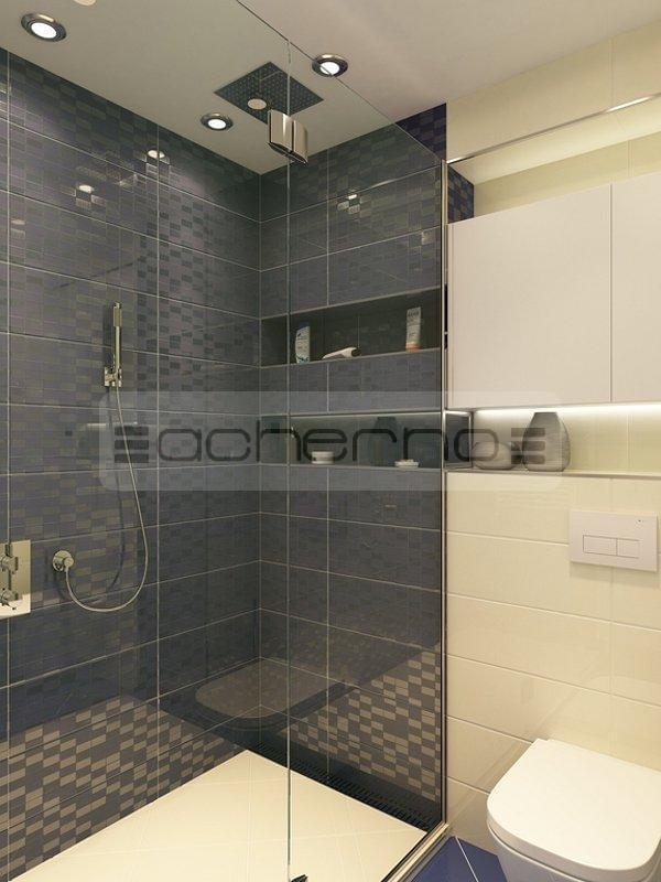 Acherno modernes wohnung design in frischen farben - Innenarchitektur badezimmer ...