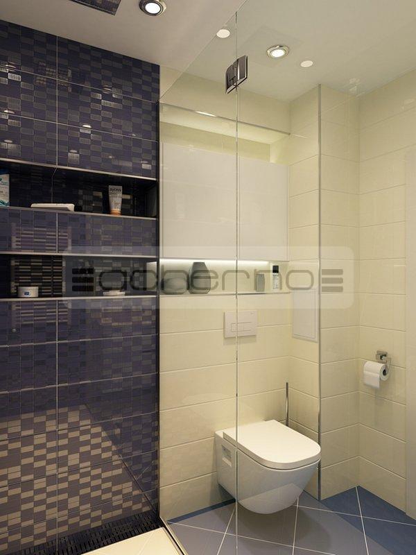 Acherno modernes wohnung design in frischen farben - Raumgestaltung badezimmer ...