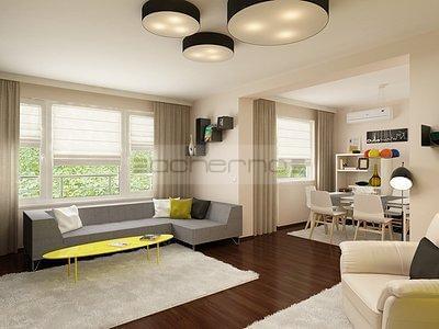 Modernes Wohnung Design In Frischen Farben