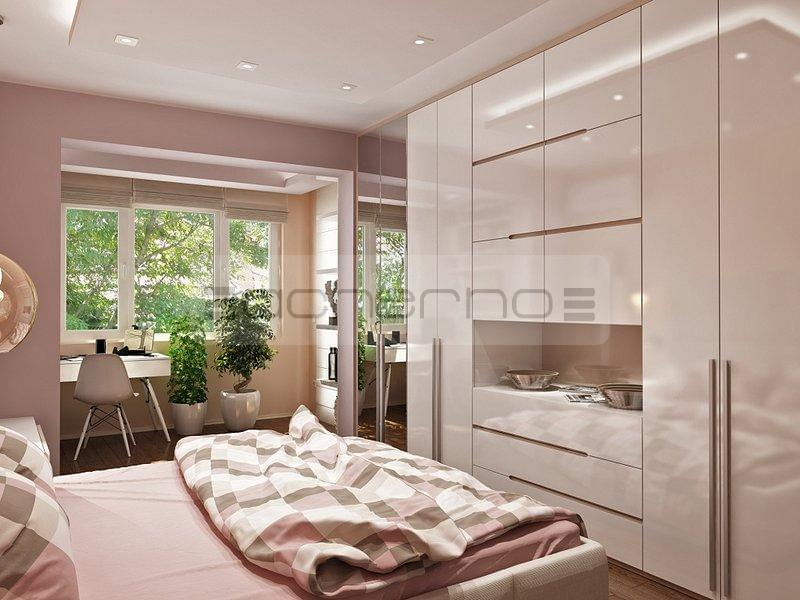 acherno modernes wohnung design in frischen farben. Black Bedroom Furniture Sets. Home Design Ideas
