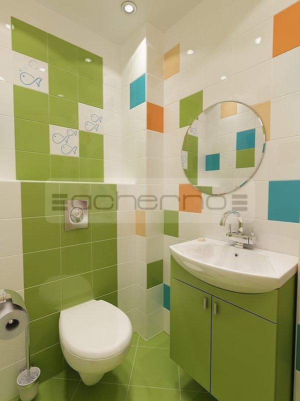 innenarchitektur projekt kinderbadezimmer - Wohnung Farben Ideen