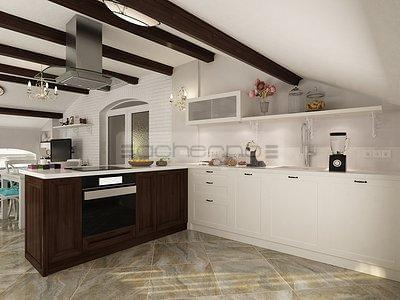 Hervorragend Good Sommerhaus In Trkis Und Wei With Wohnideen Kche
