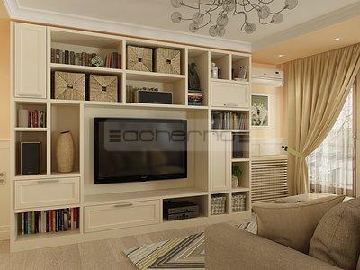 Acherno - Raumgestaltung Sommerhaus in Türkis und Weiß