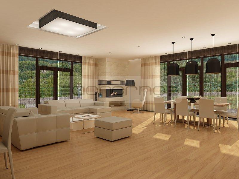 wohnung mit minimalistischem weisem interieur design new york, acherno - schickes wohndesign für ein geräumiges haus, Design ideen