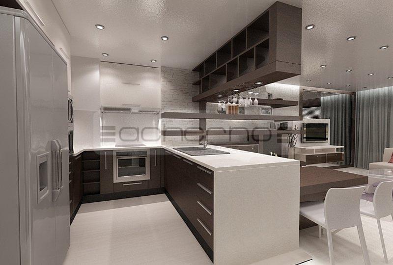 Wohnung design ideen  Acherno - Minimalistische Innenarchitektur Ideen in Weiß