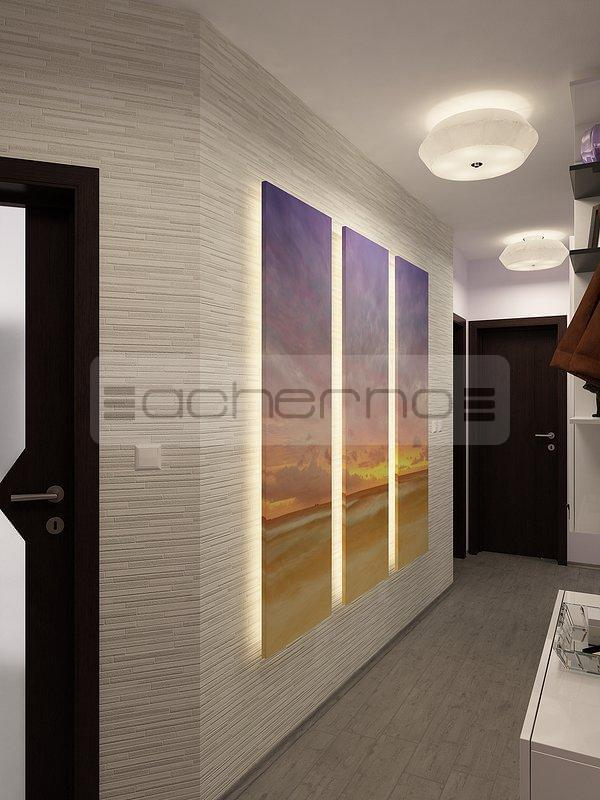 Acherno wohndesign ideen in violett und dunkelgrau for Raumgestaltung und design studium