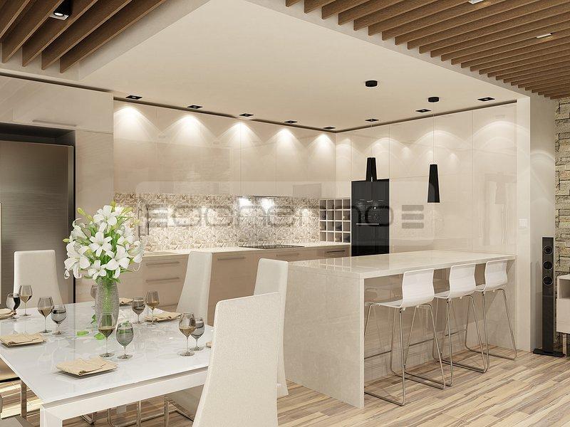 Acherno - Wohnideen Küche und Esszimmer
